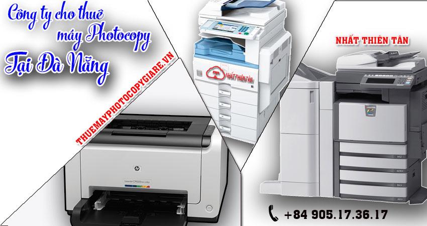 Đơn vị cho thuê máy Photocopy tại Đà Nẵng