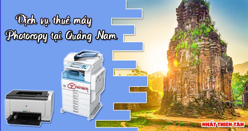 Dịch vụ thuê máy Photocopy tại Quảng Nam