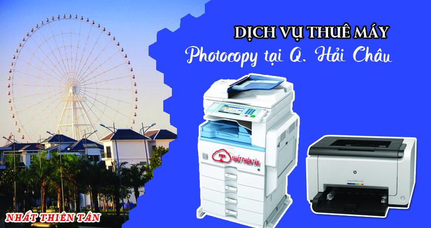Dịch vụ thuê máy photocopy tại Quận Hải Châu - Đà Nẵng