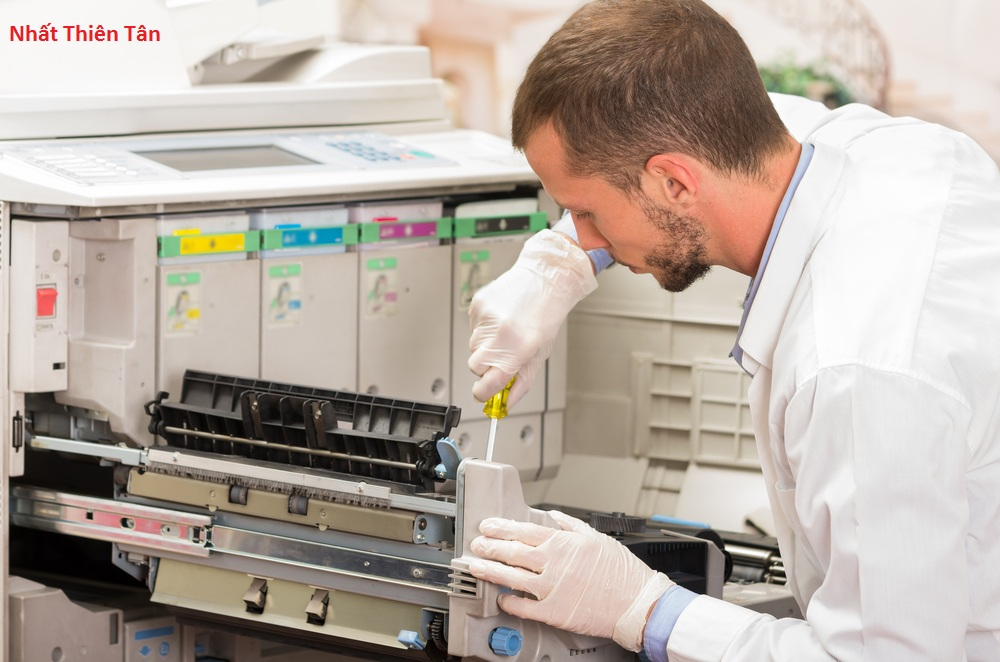 Hướng dẩn vệ sinh bộ phận khay giấy trong máy photocopy