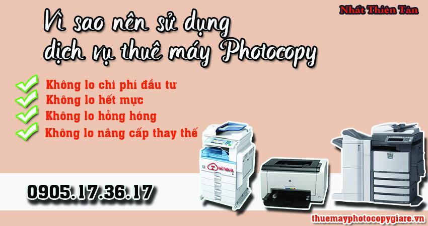 Vi sao nên su dung dich vu thue may photocopy tại đà nẵng