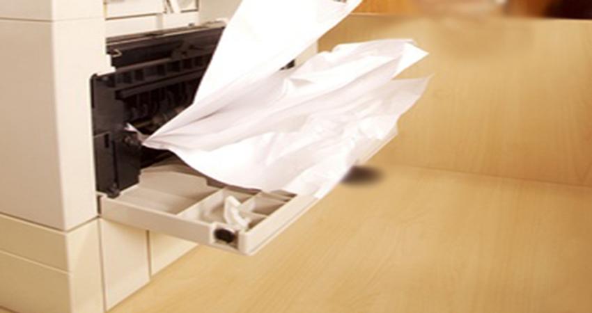 Máy photocopy bị kẹt giấy, phải làm thế nào?