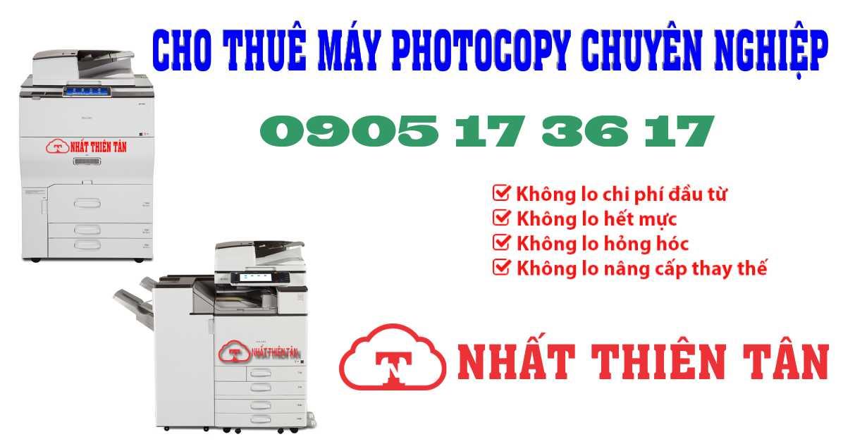 Thuê máy photocopy ở Đà Nẵng những điều nên và không nên làm