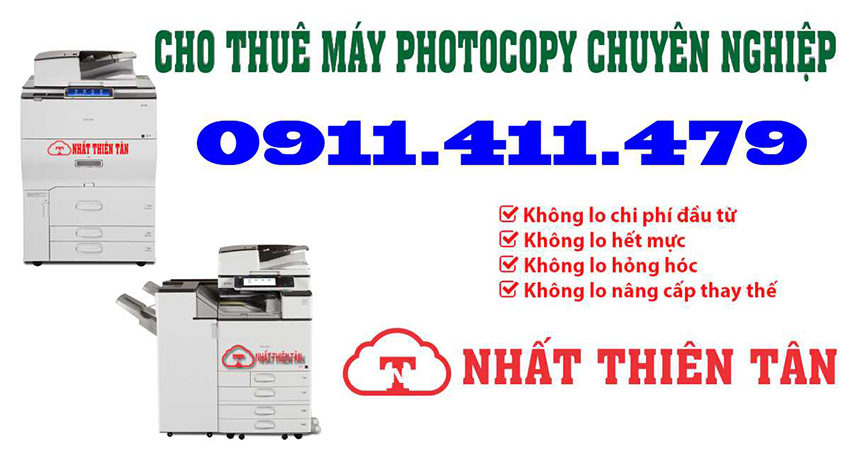 Cho thuê máy photocopy giá tốt nhất tại Hội An