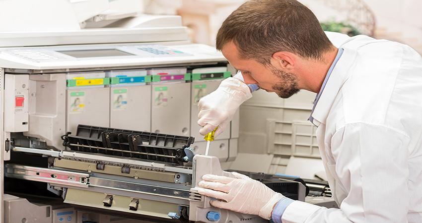 Máy photocopy ricoh mực bị mờ - Nguyên nhân và cách khắc phục