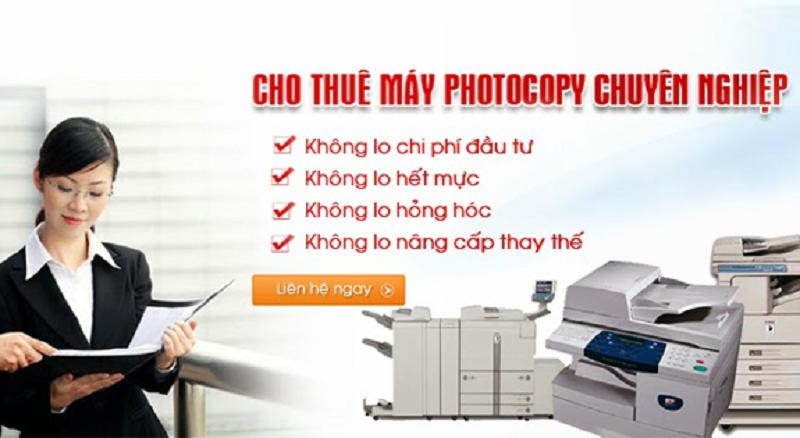 Dịch vụ cho thuê máy photocopy chính hãng tại Hội An