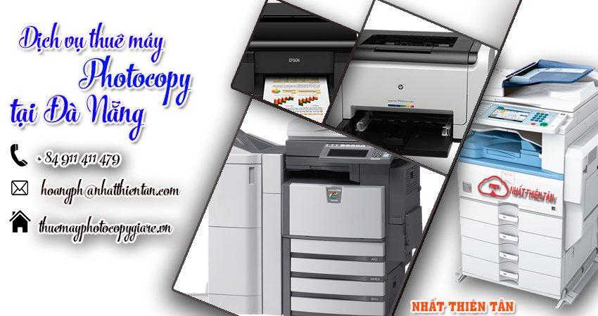 công ty cho thuê máy Photocopy tại Đà Nẵng