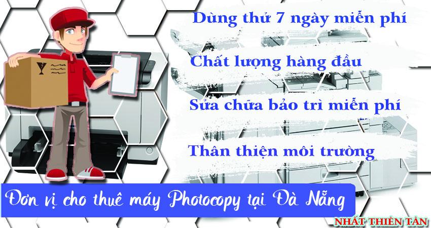 Công ty cho thuê máy photocopy giá rẻ tại Đà Nẵng