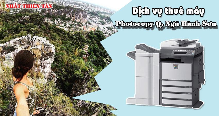 Dịch vụ thuê máy photocopy tại Quận ngũ hành sơn