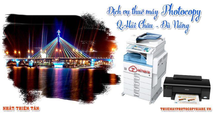 Thuê máy photocopy quận hải châu Đà Nẵng