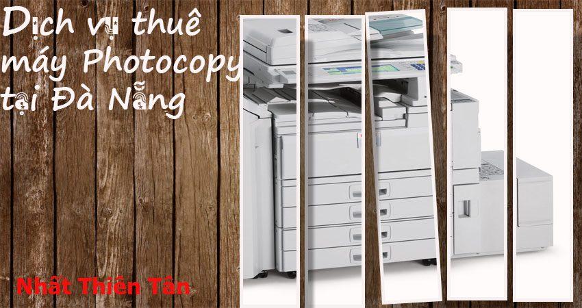 Dịch vụ thuê máy photocopy tại Đà Nẵng