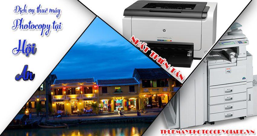 thuê máy photocopy tại hội an