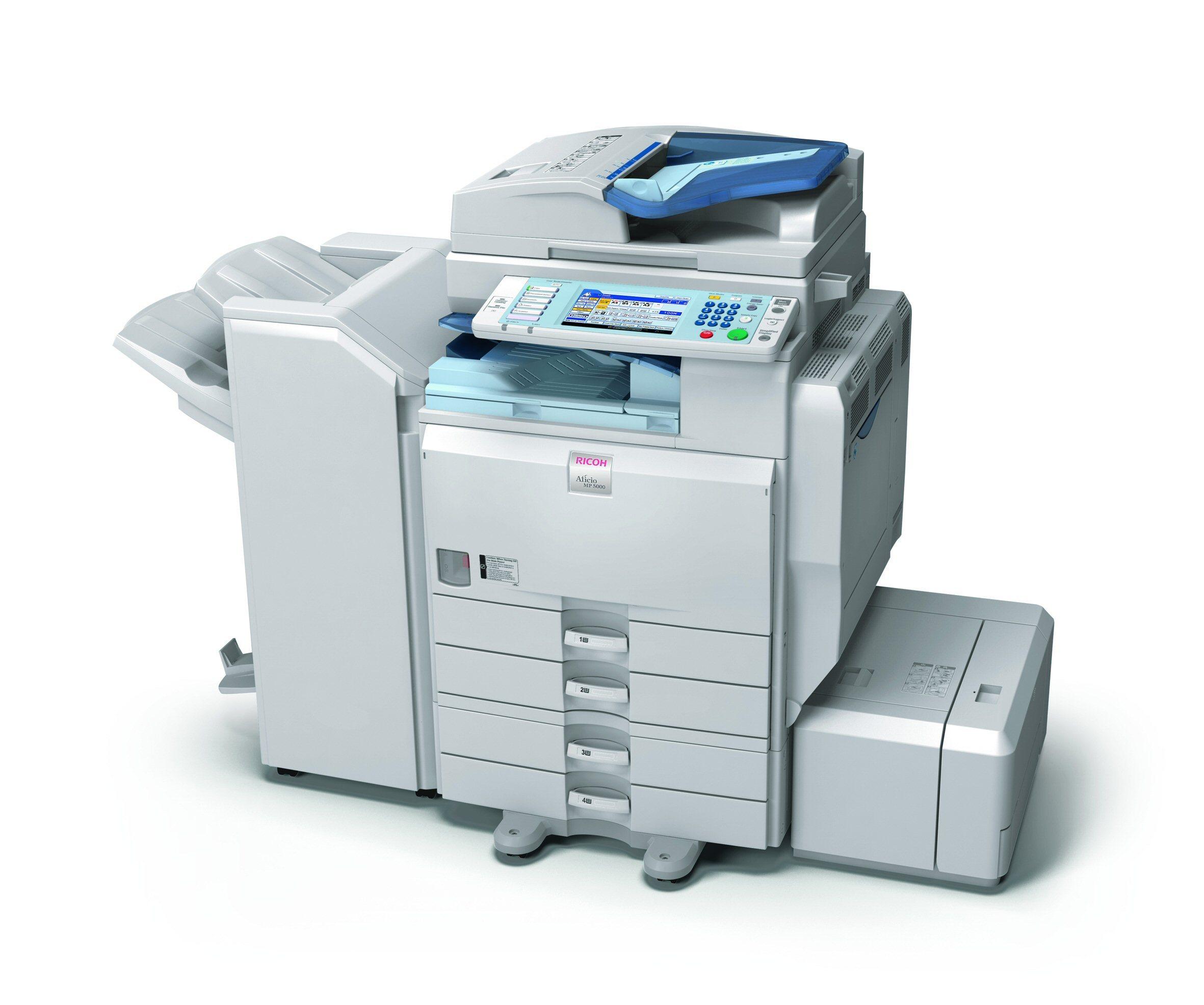 thiết kế máy Photocopy ricoh
