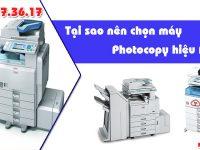 vì sao nên chọn máy Photocopy hiệu Ricoh
