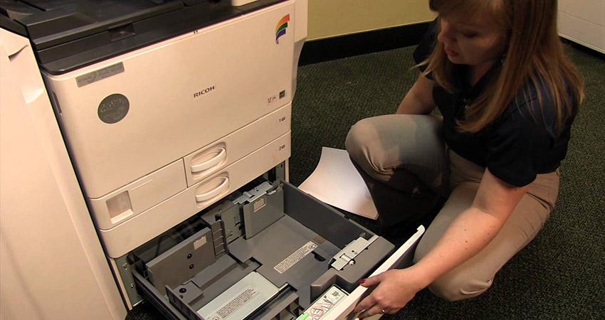 """""""Sửa bệnh"""" máy photocopy bị tắc mực nhanh như trở bàn tay"""
