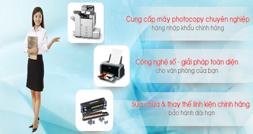 Ricoh - Máy photocopy văn phòng tuyệt vời nhất dành cho bạn
