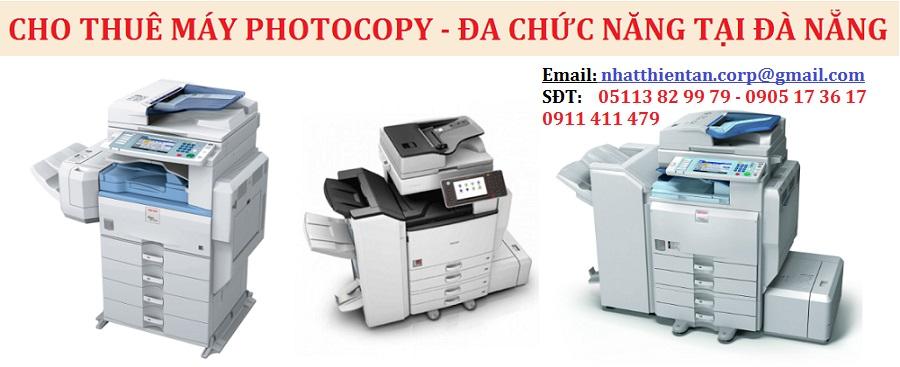 Cho thuê máy photocopy Xeror tại Đà Nẵng