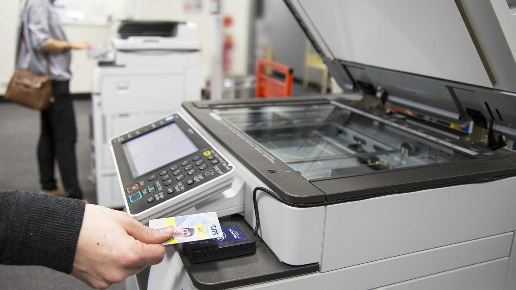 sử dụng máy photocopy