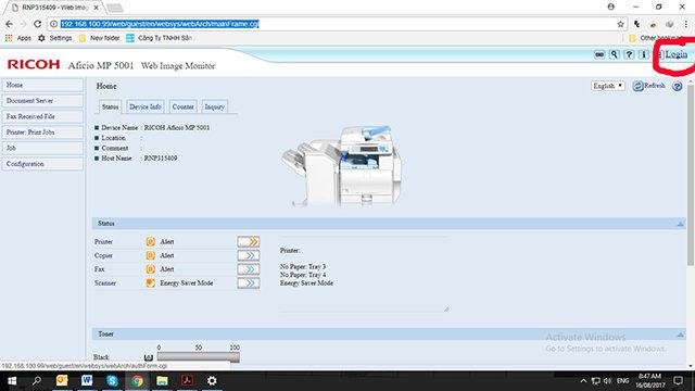 cài folder từ máy photocopy vào máy tính nhanh nhất