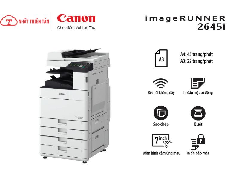 cách sử dụng máy photocopy canon