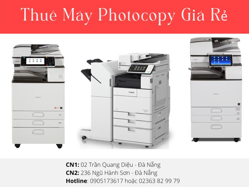 Địa chỉ cho thuê máy photocopy giá rẻ tại Đà Nẵng