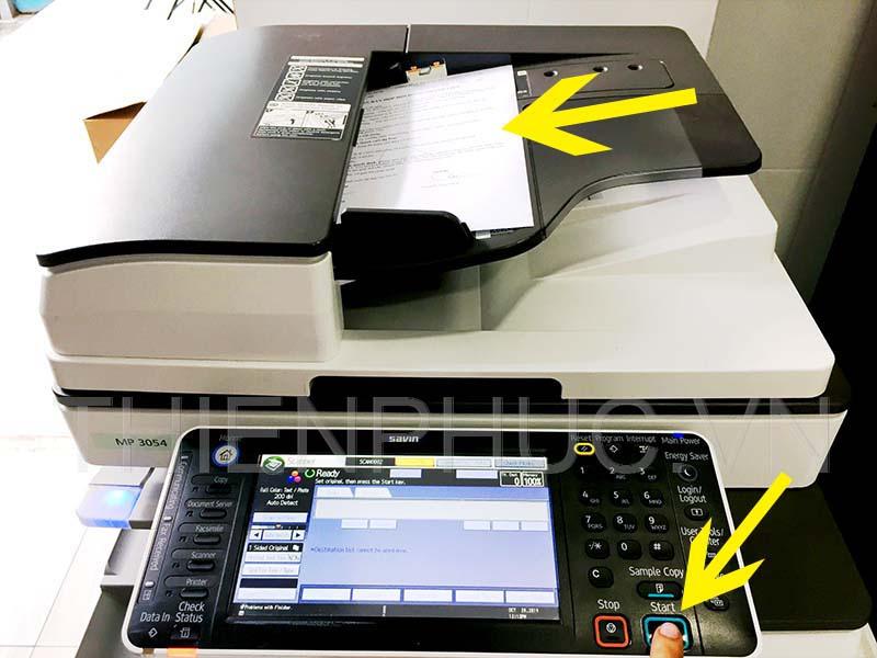 Tính năng scan cho thao tác đơn giản cho người dùng