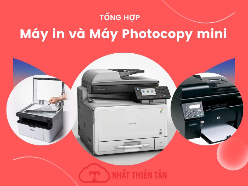 Máy in và Máy Photocopy mini